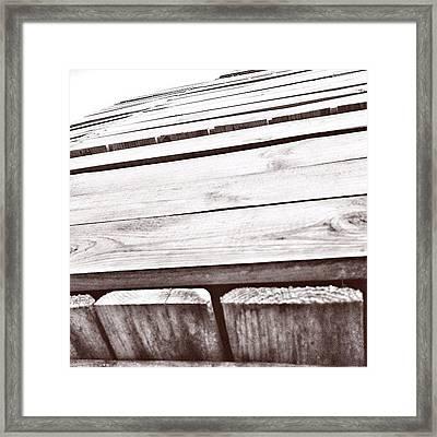 #box #woodenbox #case #woodencase Framed Print