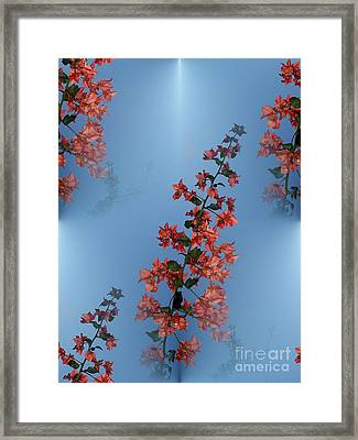 Framed Print featuring the photograph Branched Beauty by Ayasha Loya