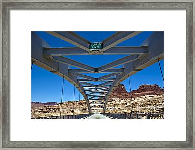 Bridge Across Colorado Framed Print by Scotts Scapes
