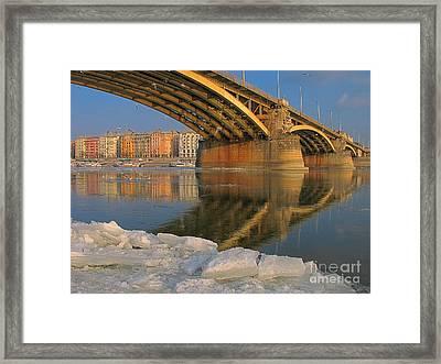 Bridge Framed Print by Odon Czintos