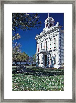Bridgeport City Hall Framed Print