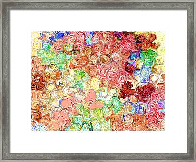 Bright Reflections Framed Print by Debbie Portwood