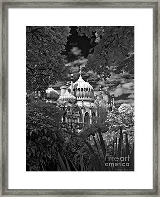 Brighton Royal Pavilion - Infrared Framed Print