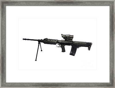 British Prototype 4.56mm Light Support Framed Print