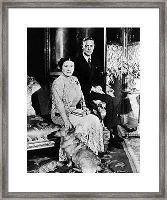 British Royalty. British Queen Framed Print by Everett
