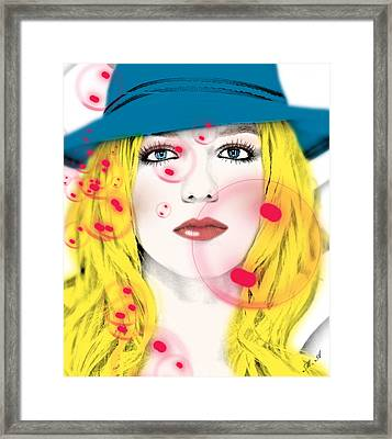 Britney Spears Framed Print by Mark Ashkenazi