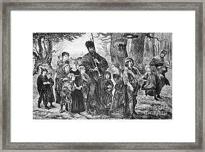 Browning: Pied Piper Framed Print by Granger