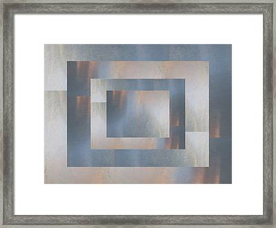 Brushed 19 Framed Print by Tim Allen