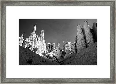 Framed Print featuring the photograph Bryce Canyon Infrared by Mike Irwin