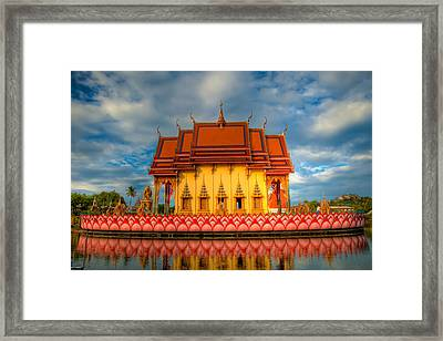 Buddha Temple  Framed Print by Adrian Evans
