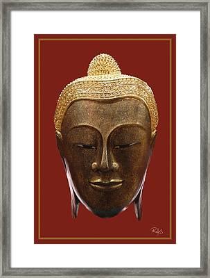 Buddha's Pleasure Framed Print by Allan Rufus