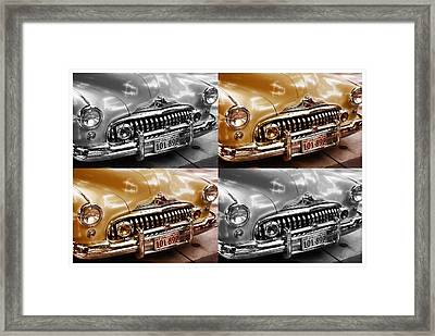 Buick Road Master Framed Print