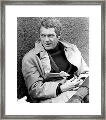 Bullitt, Steve Mcqueen, 1968 Framed Print
