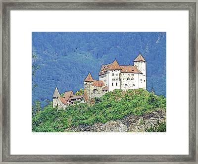 Burg Gutenberg Balzers Litchtenstein Framed Print by Joseph Hendrix