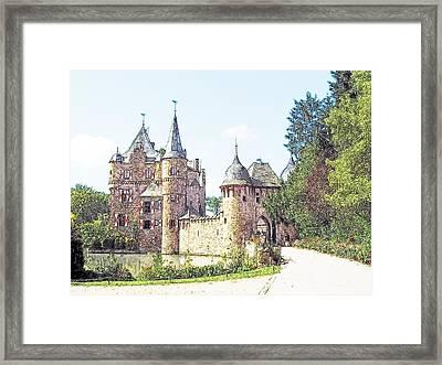 Burg Satsvey Germany Framed Print by Joseph Hendrix