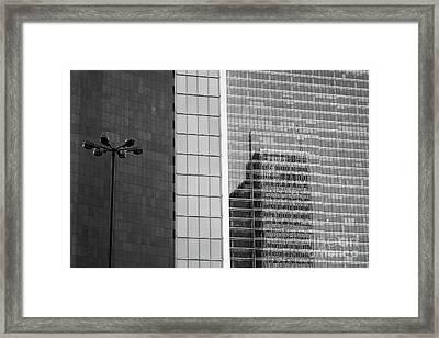Business Center Framed Print by Dariusz Gudowicz