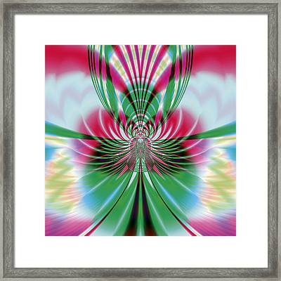 Butterfly Framed Print by Design Windmill