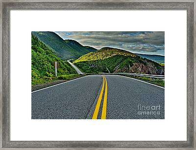 Cabot Trail Framed Print