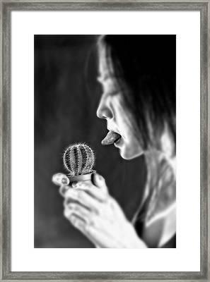 Cactus Framed Print by Joana Kruse