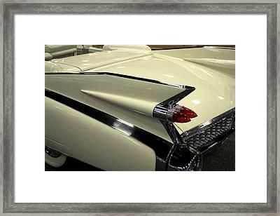 Caddy Fin Framed Print