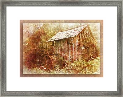 Cade's Grist Mill Framed Print by Barry Jones