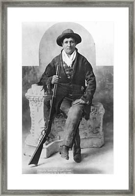 Calamity Jane (1852-1903) Framed Print