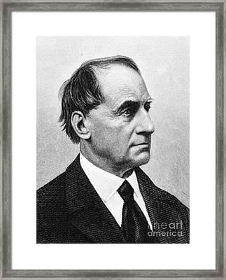 Caleb Cushing (1800-1879) Framed Print
