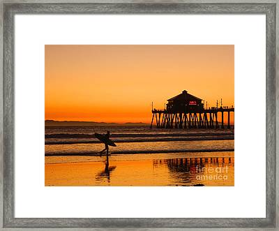 Call It A Night Framed Print