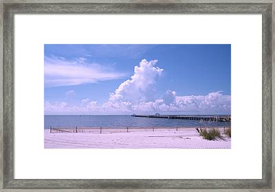 Framed Print featuring the photograph Calming View by Brian Wright