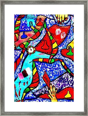 Candyland Framed Print by Eliezer Sobel