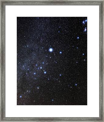 Canis Major Constellation Framed Print by Eckhard Slawik