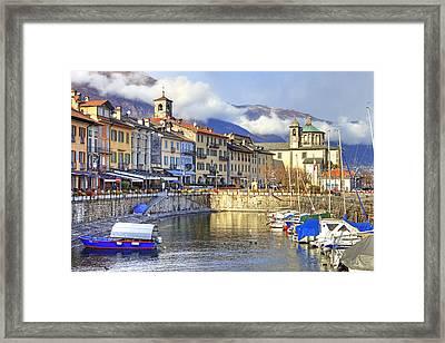 Cannobio Framed Print