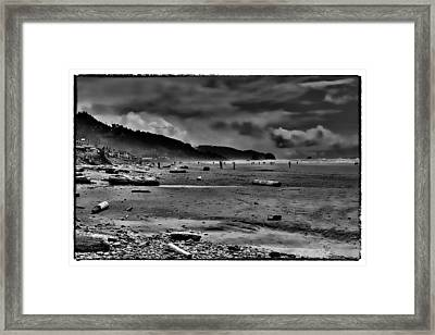 Cannon Beach Oregon Framed Print by David Patterson