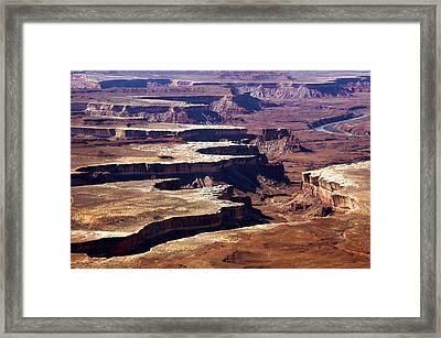 Canyonlands Green River Overview  Framed Print by Paul Cannon