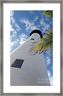 Cape Florida Lighthouse Framed Print by Tammy Chesney