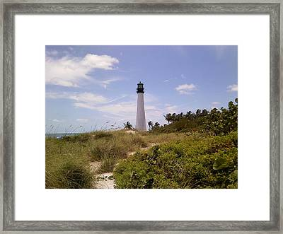 Cape Florida Framed Print by Tiffney Heaning