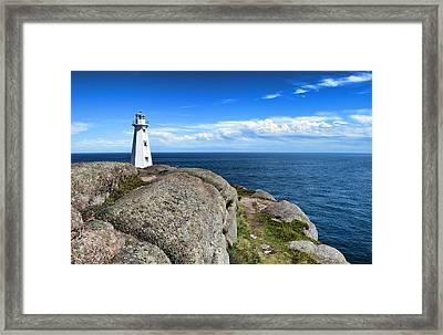 Cape Spear Lighthouse Framed Print by Steve Hurt