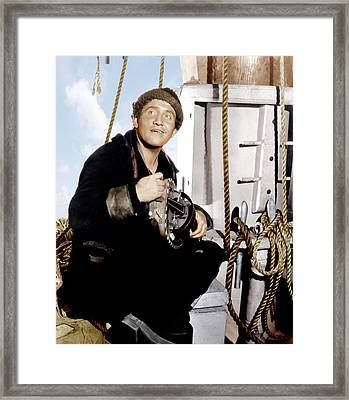 Captains Courageous, Spencer Tracy, 1937 Framed Print by Everett