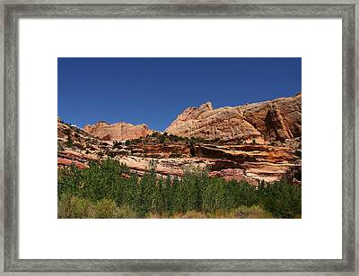 Captial Reef Framed Print by Southern Utah  Photography