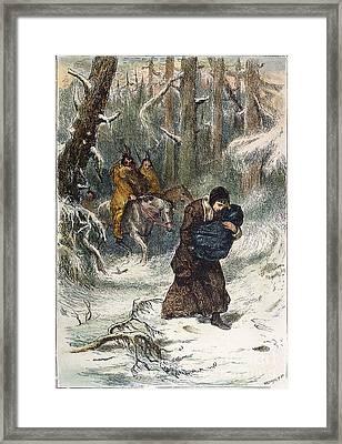 Captive: Mary Rowlandson Framed Print