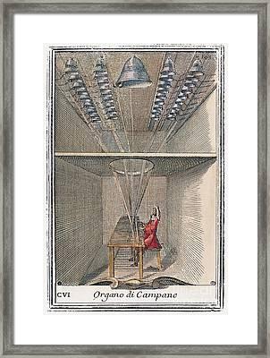 Carillon, 1723 Framed Print by Granger