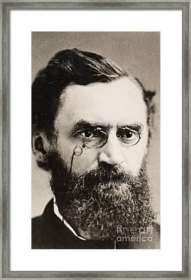 Carl Schurz (1829-1906) Framed Print by Granger