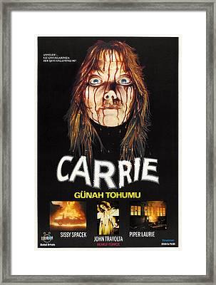 Carrie, Sissy Spacek, 1976 Framed Print