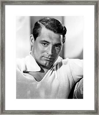 Cary Grant, 1930s Framed Print by Everett