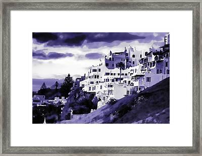 Casa Pueblo Framed Print by David April