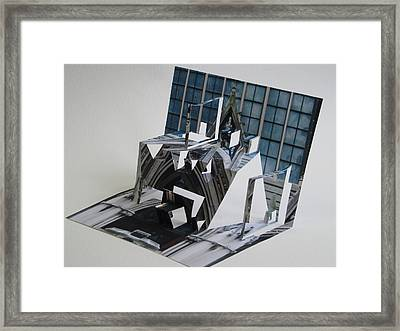 Cathedreal Reconstruction Framed Print by Alfred Ng
