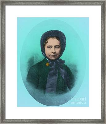 Catherine Booth, Co-founder Salvation Framed Print by Photo Researchers