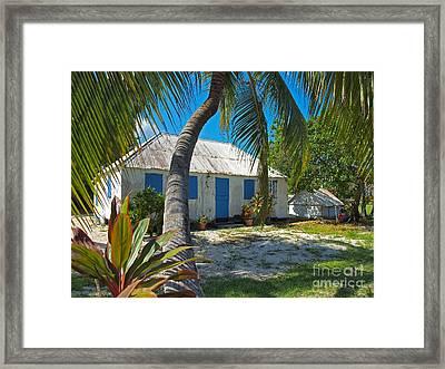 Cayman Islands Cottage Framed Print by James Brooker