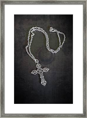 Celtic Cross Framed Print by Joana Kruse