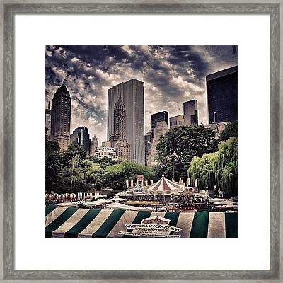 Central Park - New York Framed Print